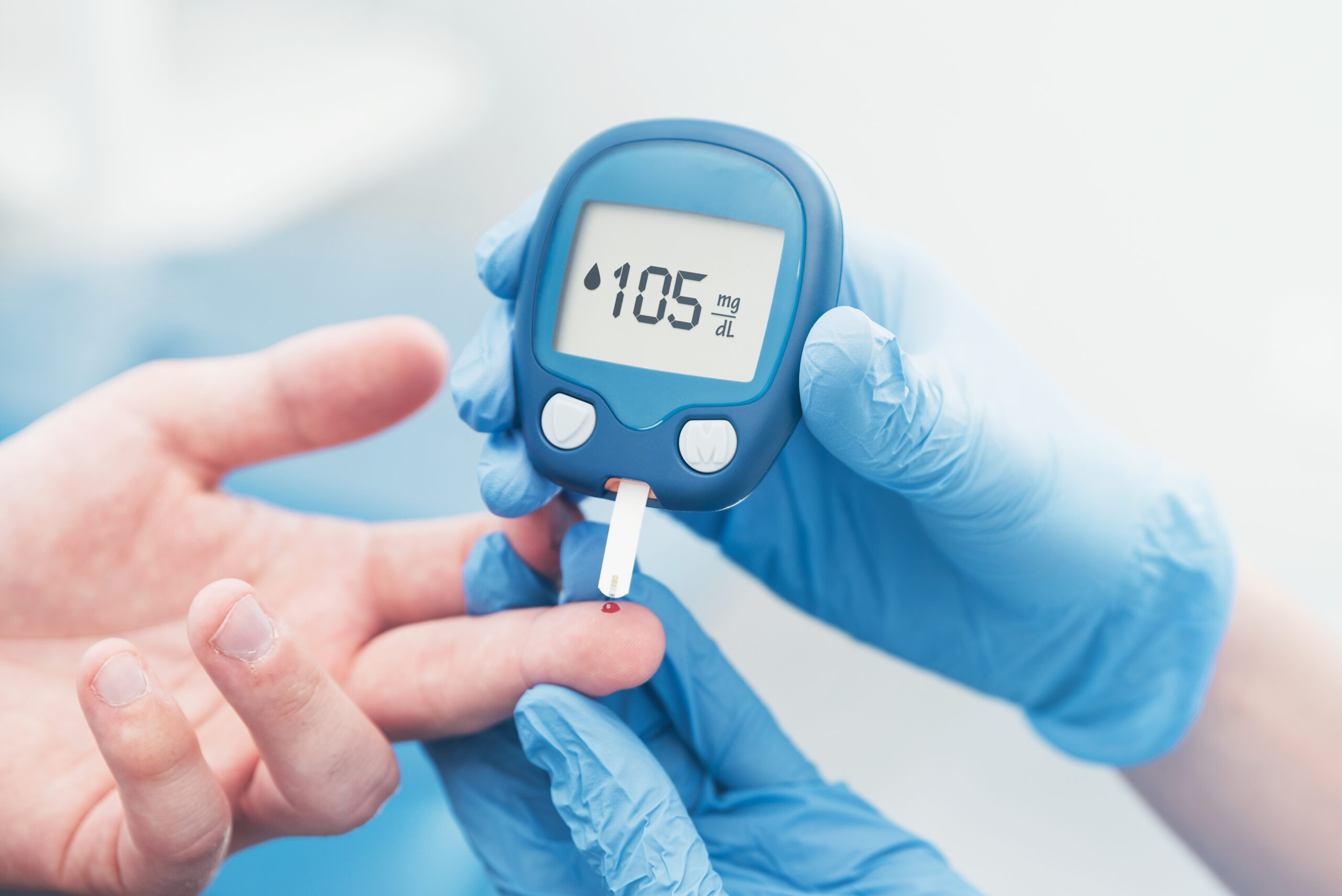 Blood test for diabetes